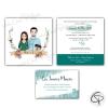 Faire-parts de mariage original avec cartons d'invitations personnalisés
