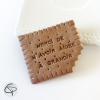 Cadeau original pour maîtresse d'école avec un biscuit magnet