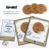 Aimants biscuits fabriqués main à offrir en cadeau de fin d'année scolaire