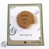 Biscuit magnétique gravé Super Avs