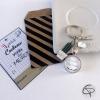 Cadeau maîtresse de fin d'année avec pochette et carte à offrir
