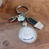 Porte-clé personnalisé avec le prénom de l'enfant dont s'occupe l'Avs