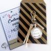 Porte-clé personnalisé atsem cadeau de fin d'année scolaire