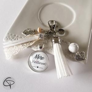 Bijou de sac personnalisé mère veilleuse cadeau original