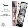 Faire-parts naissance avec photos fabriqués main en France