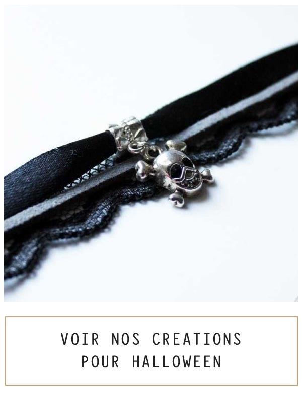 Bijoux pour femme originaux et personnalisées soirée d'halloween