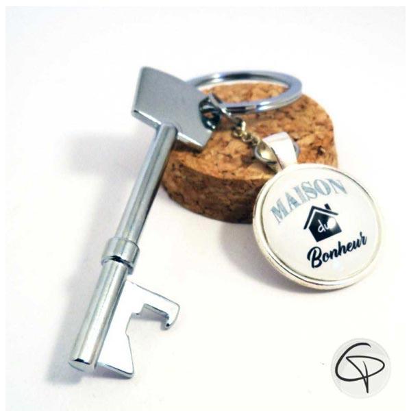 Porte-clefs décapsuleurs ouvre-bouteilles pesonnalisables artisanaux