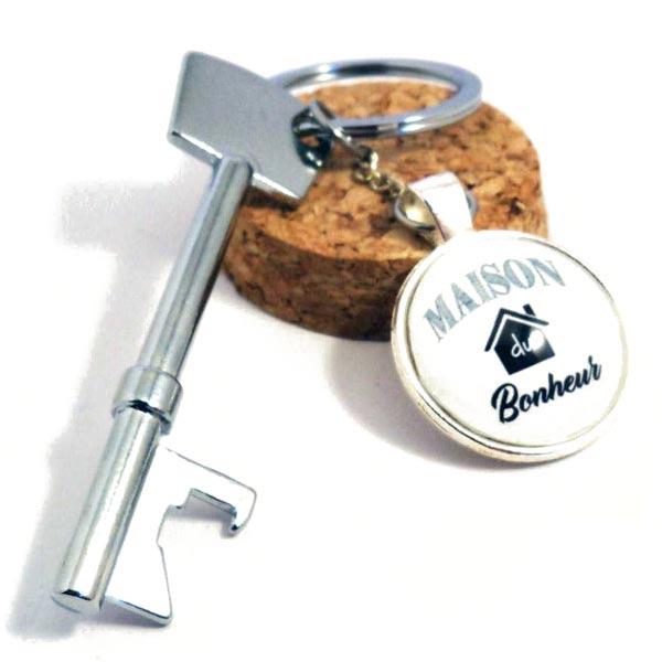 Porte-clefs décapsuleurs ouvre-bouteilles originaux personnalisables