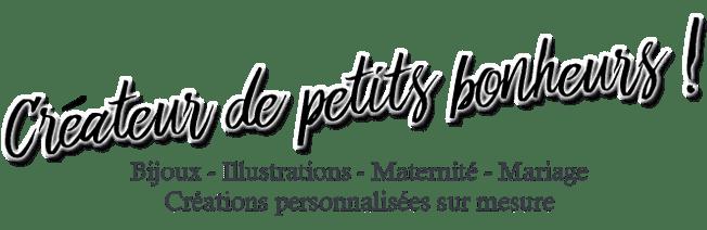 Boutique en ligne créations personnalisées fait main en France bijoux sur mesure grossesse naissance illustrations sur commande