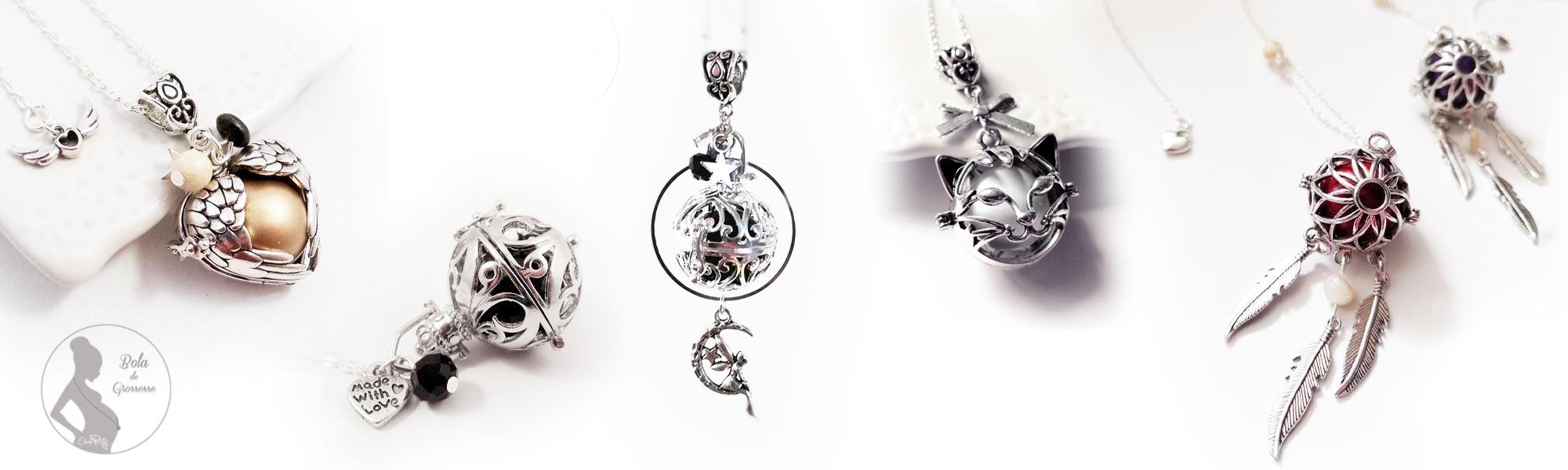 Bola original de créateur bijou personnalisé pour femme enceinte
