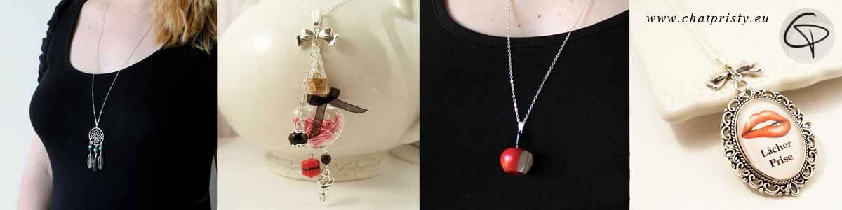 choix de cadeaux originaux pour Saint Valentin 2018 bijoux Chat Pristy cadeau original et personnalisé pour femme Saint Valentin