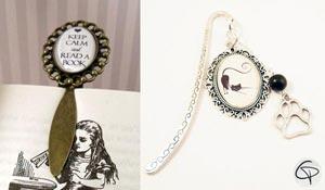 Cadeau original et personnalisé bijoux pour femme qui aime lecture