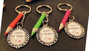 cadeaux pour maîtresse, cadeaux pour instituteurs, cadeaux atsem, cadeaux avs cadeau original et personnalisé fin année scolaire bijoux pour femme Chat Pristy