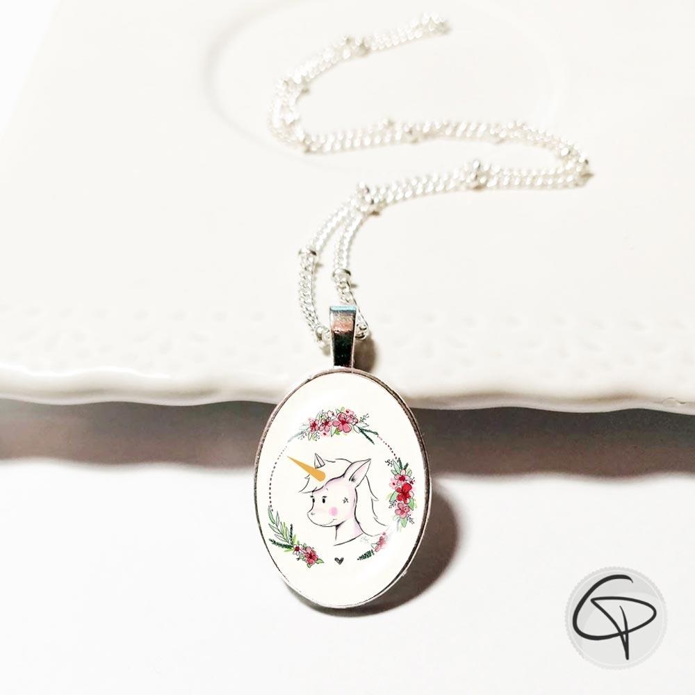 Bijou original pour petite fille fabriqué à la main en France