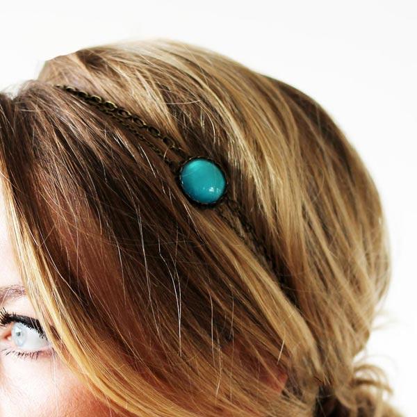 Headbands bijoux de tête délicats et raffinés pour chevelure de femme