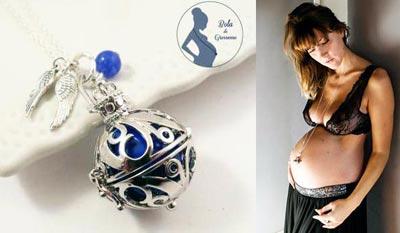 bola de grossesse cadeaux de grossesse cadeau original et personnalisé femme enceinte bijoux chat pristy