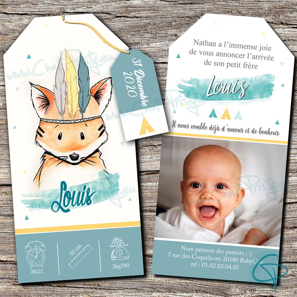 Annoncer la naissance de votre enfant à toute la famille avec une création originale