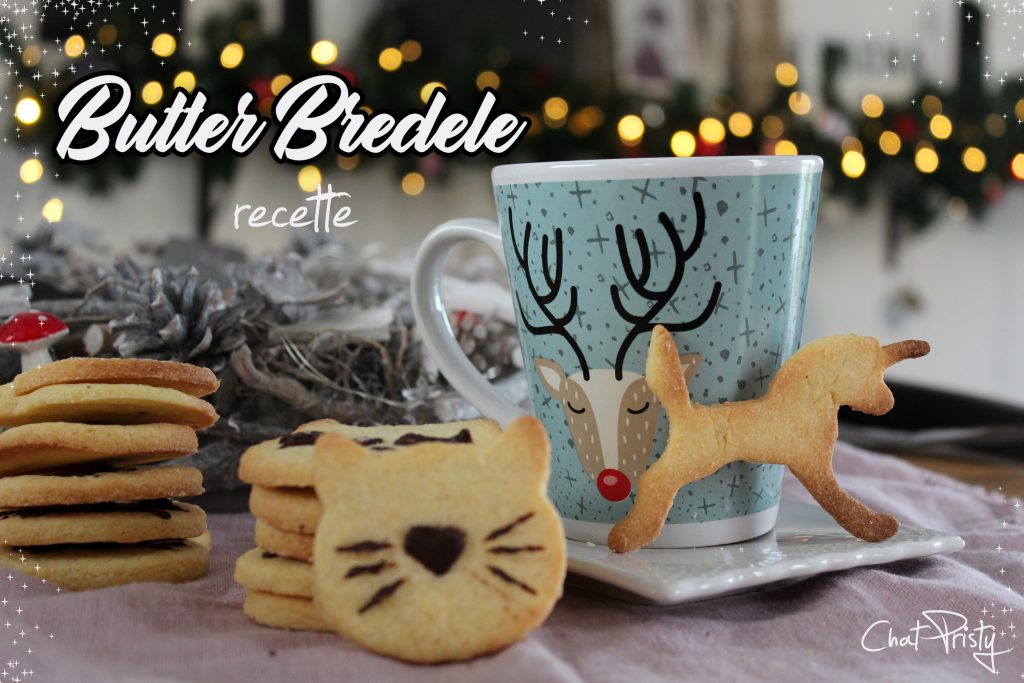 Butter Bredele biscuits de Noël alsaciens