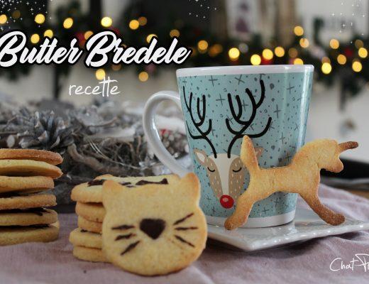 Recette facile de biscuits de Noël butter bredele Alsacien